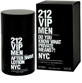 Carolina Herrera 212 VIP Men voda po holení pro muže 100 ml