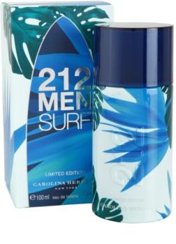 Carolina Herrera 212 Surf woda toaletowa dla mężczyzn 100 ml edycja limitowana