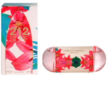 Carolina Herrera 212 Surf Eau de Toilette voor Vrouwen  60 ml Limited Edition