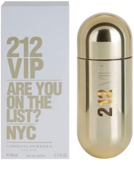 Carolina Herrera 212 VIP parfémovaná voda pro ženy 80 ml