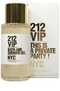 Carolina Herrera 212 VIP gel za tuširanje za žene 200 ml
