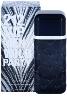 Carolina Herrera 212 VIP Men Wild Party Eau de Toilette für Herren 100 ml