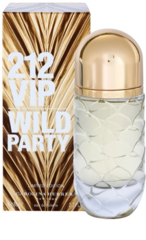 Carolina Herrera 212 VIP Wild Party Eau de Toilette Damen 80 ml limitierte Edition
