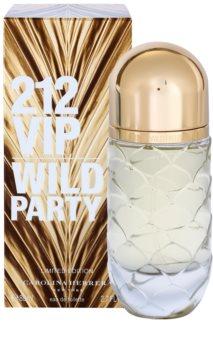 Carolina Herrera 212 VIP Wild Party Eau de Toilette voor Vrouwen  80 ml Limited Edition
