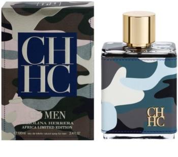 Carolina Herrera CH Men Africa Limited Edition toaletní voda pro muže 100 ml limitovaná edice