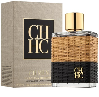 Carolina Herrera CH Men Central Park Limited Edition Eau de Toilette für Herren 100 ml limitierte Edition