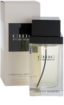 Carolina Herrera Chic For Men Eau de Toilette für Herren 100 ml