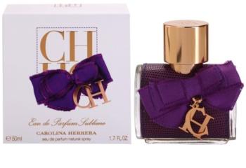 Carolina Herrera CH Eau de Parfum Sublime Eau de Parfum für Damen 50 ml