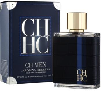 Carolina Herrera CH Men Grand Tour Limited Edition eau de toilette pour homme 100 ml edition limitée