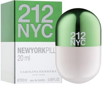 Carolina Herrera 212 NYC Pills Eau de Toilette para mulheres 20 ml