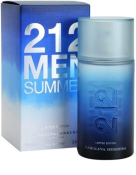 Carolina Herrera 212 Summer Men Eau de Toilette für Herren 100 ml limitierte Edition