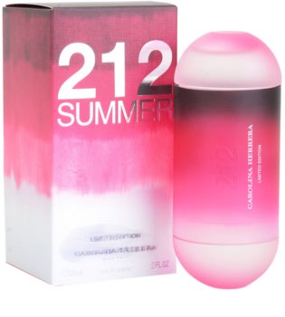 Carolina Herrera 212 Summer Eau de Toilette for Women 60 ml Limited Edition