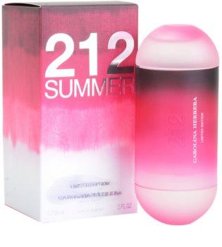 Carolina Herrera 212 Summer eau de toilette pentru femei 60 ml editie limitata