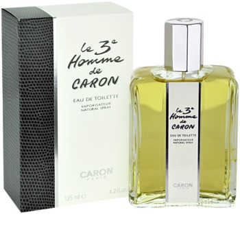 Caron Le 3 Homme Eau de Toilette voor Mannen 125 ml