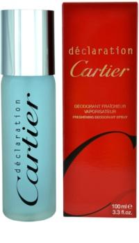 Cartier Declaration Deo Spray voor Mannen 100 ml