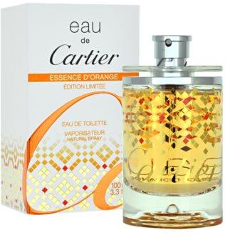 Cartier Eau de Cartier Essence d´Orange Limited Edition 2011 eau de toilette unisex 100 ml