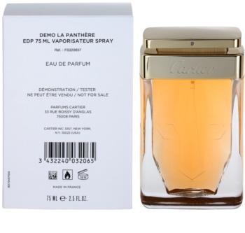 Cartier La Panthère woda perfumowana tester dla kobiet 75 ml