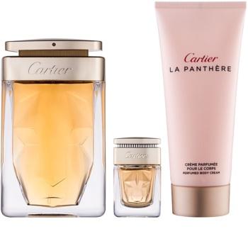 Cartier La Panthère ajándékszett III.