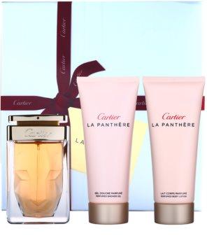 Cartier La Panthère dárková sada VII.