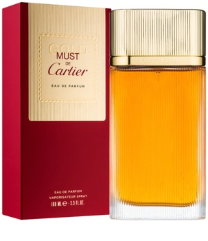 b4cb1008c78 Cartier Must de Cartier Gold Eau de Parfum para mulheres 100 ml
