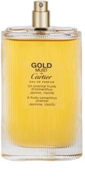 Cartier Must De Cartier Gold Eau De Parfum Tester For Women 100 Ml