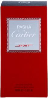 Cartier Pasha de Cartier Edition Noire Sport Eau de Toilette para homens 100 ml