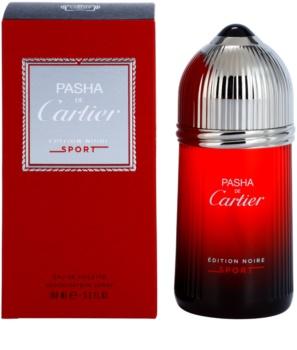 Cartier Pasha de Cartier Edition Noire Sport Eau de Toilette voor Mannen 100 ml