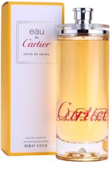Cartier Eau de Zeste de Soleil Eau de Toilette unisex 200 ml