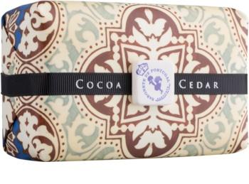 Castelbel Portuguese Tile Cocoa & Cedar luksusowe mydło