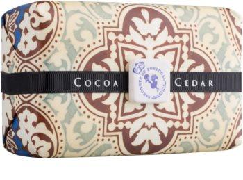 Castelbel Portuguese Tile Cocoa & Cedar luxusné mydlo