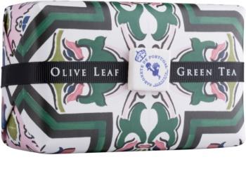 Castelbel Portuguese Tile Olive Leaf & Green Tea luxusní mýdlo
