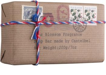 Castelbel Postcards Pear Blossom savon de luxe mains