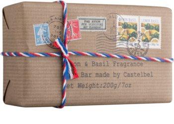 Castelbel Postcards Lemon & Basil Luxe Zeep  voor de Handen
