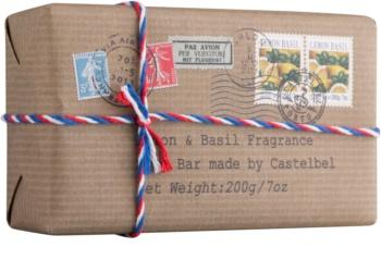 Castelbel Postcards Lemon & Basil sabão luxuoso para mãos
