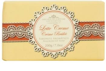 Castelbel Gourmet Collection Crème Brûlée savon de luxe portugais