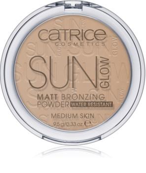 Catrice Sun Glow компактна пудра-бронзантор
