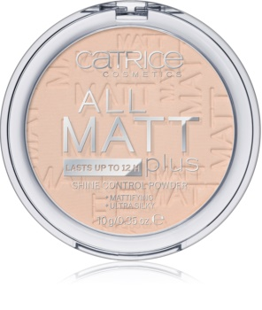 Catrice All Matt Plus matující pudr