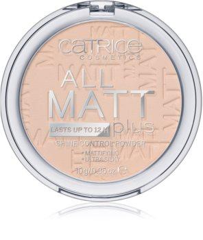 Catrice All Matt Plus poudre matifiante