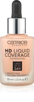 Catrice HD Liquid Coverage tональні засоби