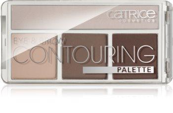Catrice Eye & Brow kontúr paletta szemre ls szemöldökre