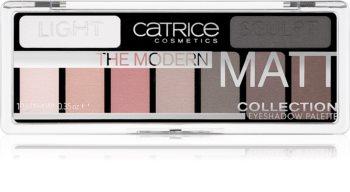 Catrice The Modern Matt Collection paleta senčil za oči