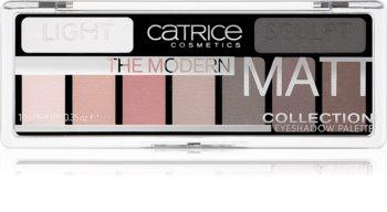 Catrice The Modern Matt Collection paleta sjenila za oči