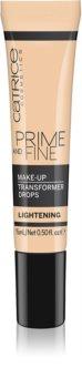 Catrice Prime And Fine zosvetľujúce kvapky do make-upu