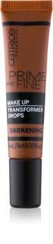 Catrice Prime And Fine stmavujúce kvapky do make-upu