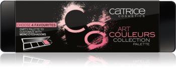 Catrice Art Couleurs prázdna paletka pre očné tiene/ lícenky