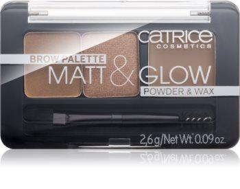 Catrice Matt & Glow набір для догляду за бровами
