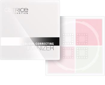 Catrice Genderless puder z učinkom osvetljevanja za korekcijo kože