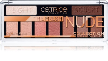 Catrice The Fresh Nude Collection oční stíny
