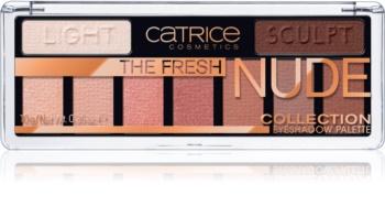 Catrice The Fresh Nude Collection тіні для повік