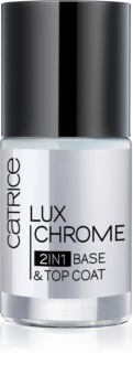 Catrice Luxchrome base et top coat